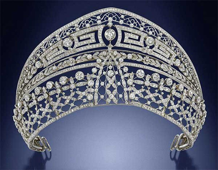 33-Carat Diamond and Platinum Tiara With Ties to Spanish Royalty Comes to Auction at Bonhams
